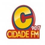 Logo da emissora R�dio Cidade 90.7 FM