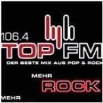 Logo da emissora Top 106.4 FM