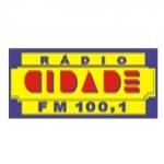 Logo da emissora R�dio Cidade 100.1 FM