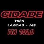 Logo da emissora R�dio Cidade 102.9 FM