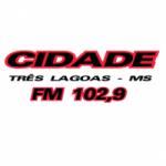Logo da emissora Rádio Cidade 102.9 FM