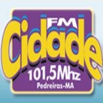Logo da emissora R�dio Cidade 101.5 FM