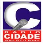 Logo da emissora R�dio Cidade 870 AM