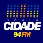 Logo da emissora R�dio Cidade 94.3 FM