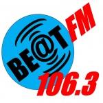 Logo da emissora Beat 106.3 FM