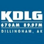 Logo da emissora KDLG 670 AM 89.9 FM