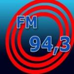 Logo da emissora Rádio 94.3 FM
