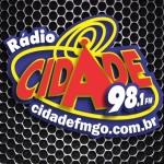 Logo da emissora Rádio Cidade 98.1 FM
