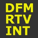Logo da emissora DFM 99.3 FM