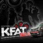 Logo da emissora KFAT 92.9 FM