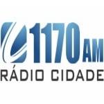 Logo da emissora Rádio Cidade 1170 AM