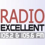Logo da emissora Excellent 105.2 FM