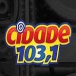 Logo da emissora R�dio Cidade 103.1 FM