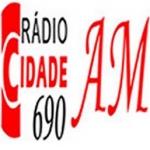 Logo da emissora Rádio Cidade 690 AM