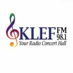 Logo da emissora KLEF 98.1 FM