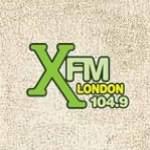 Logo da emissora Radio XFM 104.9 FM