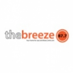 Logo da emissora The Breeze 87.7 FM