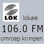 Logo da emissora Lokale Omroep Krimpen 106 FM