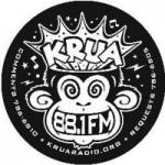 Logo da emissora KRUA 88.1 FM