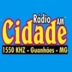 Logo da emissora R�dio Cidade 1550 AM