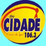 Logo da emissora R�dio Cidade 106.3 FM