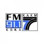 Logo da emissora KSKA 91.1 FM
