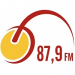 Logo da emissora Rádio Cidade Nova 87.9 FM