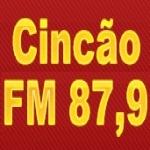 Logo da emissora Rádio Cincão 87.9 FM