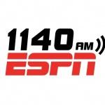 Logo da emissora KSLD 1140 AM