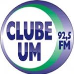 Logo da emissora Rádio Clube Um 92.5 FM
