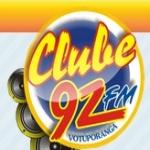 Logo da emissora Rádio Clube 92 FM