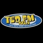 Logo da emissora KTDZ 103.9 FM Ted