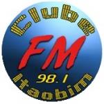 Logo da emissora Rádio Clube Itaobim 98.1 FM