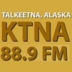 Logo da emissora KTNA 88.9 FM