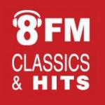Logo da emissora Radio 8FM 103.6