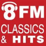 Logo da emissora Radio 8FM 97.4