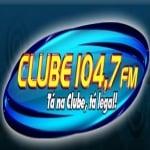Logo da emissora R�dio Clube 104.7 FM