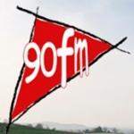 Logo da emissora Radio 90 102.4 FM