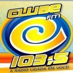 Logo da emissora Rádio Clube 103.5 FM