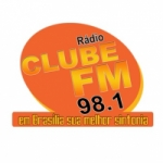 Logo da emissora Rádio Clube 98.1 FM