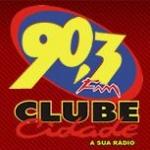 Logo da emissora R�dio Clube Cidade 90.3 FM
