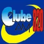 Logo da emissora R�dio Clube 820 AM