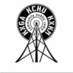 Logo da emissora KXGA 90.5 FM