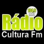 Logo da emissora Rádio Cultura 104.9 FM