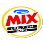 Logo da emissora Rádio Mix 106.7 FM