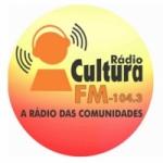 Logo da emissora Rádio Cultura 104.3 FM