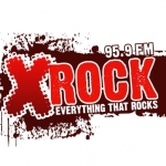 Logo da emissora KXLR 95.9 FM X-Rock