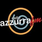 Logo da emissora Azzurra 92.1 FM