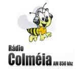 Logo da emissora R�dio Colm�ia 850 AM
