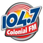 Logo da emissora R�dio Colonial 104.7 FM